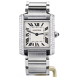 Cartier Tank Francaise 476526CE 25mm Unisex Watch