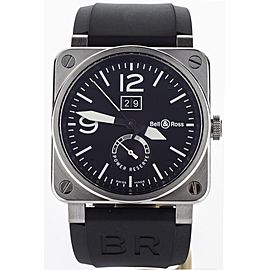 Bell & Ross BR03-90 Grand Date & Reserve de Marche BR03-90-BL-ST 42mm Mens Watch