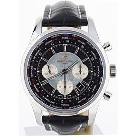 Breitling Transocean Unitime Chronograph AB0510U4 46mm Mens Watch