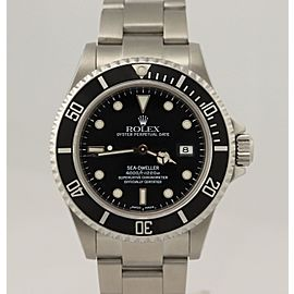 Rolex Sea-Dweller Steel 16600 40mm Mens Watch