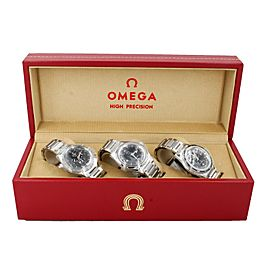 Omega 60th Anniversary 1957 Trilogy Box Set 311.10.39.30.01.002 Unisex Watches