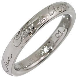 Van Cleef & Arpels Platinum Ring Size 5.5