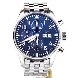 IWC Pilot Chronograph 377717 43mm Mens Watch