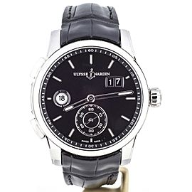Ulysse Nardin Dual Time 3343-126/92 42mm Mens Watch