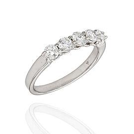 Platinum Diamond Ring Size 7.25