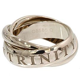 Cartier Trinity de Cartier 18K White Gold Ring Size 6