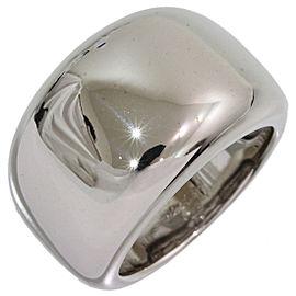 Cartier Nouvelle Vague 18K White Gold Ring Size 5