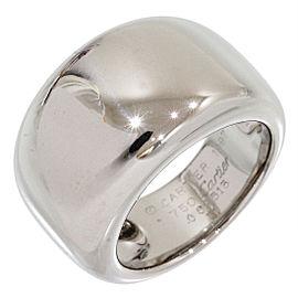 Cartier Nouvelle Vague 18K White Gold Ring Size 6