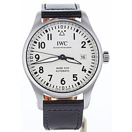 IWC Pilot Mark XVIII IW327017 40mm Mens Watch