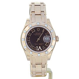Rolex Pearlmaster 81315 29mm Womens Watch