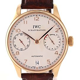 Iwc Portuguese IW500113 42mm Mens Watch