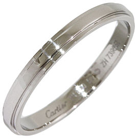Cartier d'amour Platinum Wedding Ring Size 8.25