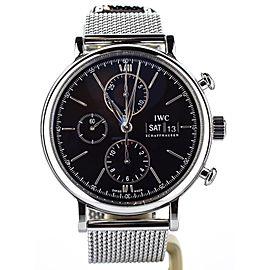 IWC Portofino Chronograph IW391010 42mm Mens Watch