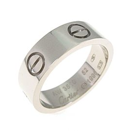 Cartier 18K White Gold Love ring TkM-117
