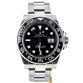 Rolex GMT-Master II 116710N 40mm Mens Watch