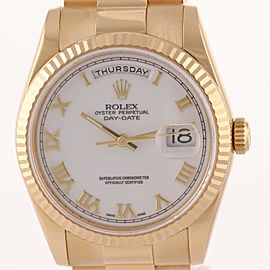 Rolex Day-Date President 118238 36mm Unisex Watch