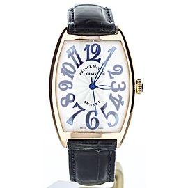 Franck Muller Cintree Curvex 2852SC 38mm Mens Watch