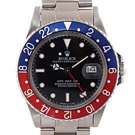 Rolex GMT-Master 'Pepsi' 16750 40mm Mens Watch