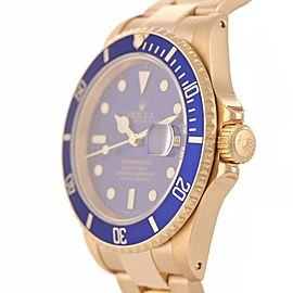 Rolex Submariner Date 16618 40mm Mens Watch