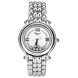 CHOPARD HAPPY SPORT ON BRACELET 7 HAPPY DIAMONDS 32mm 27/8236-23