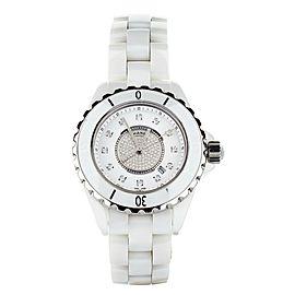 Chanel J12 diamond dial 33mm Ceramic