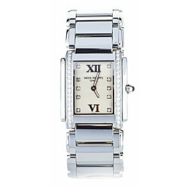 Patek Philippe Twenty 4 Stainless Steel Diamond Bezel 4910/10A-011