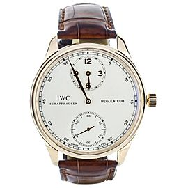 IWC Regulator Rose Gold IW544402