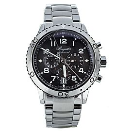 Breguet Type XXI Flyback Automatic 42mm Ref: 3810ST/92/9ZU Complete