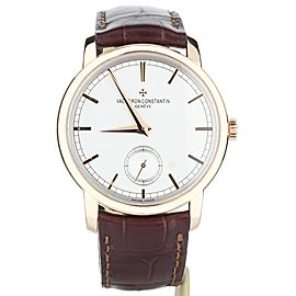Vacheron Constantin Traditionnelle Manual Wind 38mm 82172/000g-9383 Full set