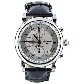Montblanc Star Meisterstruck GMT Chronograph ref: 7067 Full Set