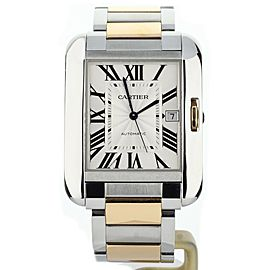 Cartier Tang Anglaise XL Two Tone Bracelet W5310006