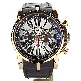 Roger Dubuis Excalibur Chronograph Rose Gold 45mm RDDBEX0222