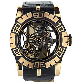 Roger Dubuis Easy Diver SED Tourbillon Limited Edition Rose Skeleton tourbdiver