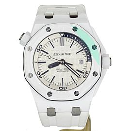 Audemars Piguet Royal Oak Offshore diver white ceramic 15707CB.OO.A010CA.01