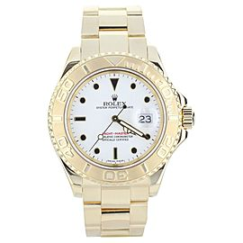Rolex Yachtmaster ref: 16628B 40mm Yellow Gold