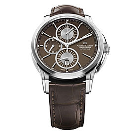 Maurice Lacroix Pontos Chronograph Brown Dial PT6188-SS001-730