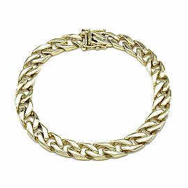 Curb Link Bracelet in Gold