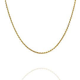 Bot Chain Necklace in Gold