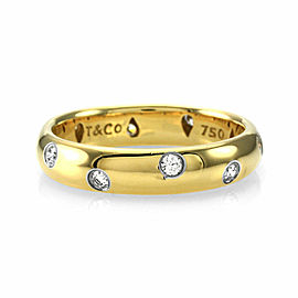 Tiffany & Co Etoile Diamond Band in Gold and Platinum