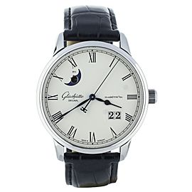 Glashutte Senator Panorama Date Moon Phase 40mm 100-04-32-12-04