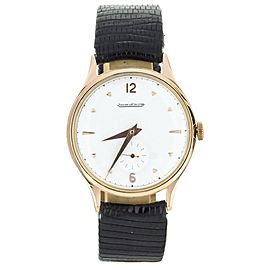 Jaeger LeCoultre Vintage Rose Gold 34mm small seconds
