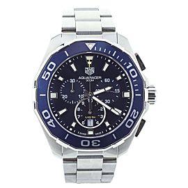 Tag Heuer Aquaracer Chronograph quartz 43mm cay111b.ba0927