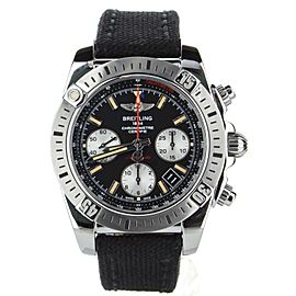 Breitling Chronomat 41 Airborne fabric strap ref:AB01442J/BD26 Box and papers