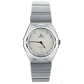 Omega Constellation Manhattan MOP Dial Quartz 28mm Ref:131.15.28.60.55.001