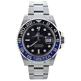 "Rolex GMT Master II ""Batman"" 40mm Ref 116710BLNR"