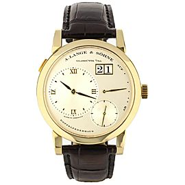 A. Lange & Söhne Lange Yellow Gold 38.5mm ref: 101.021