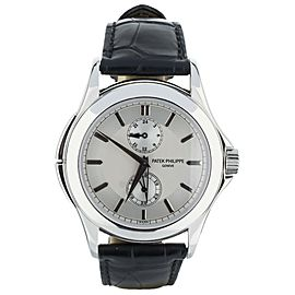 Patek Philippe Travel Time 36mm in Platinum Ref: 5134P