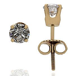 Diamond Stud Earrings in Gold