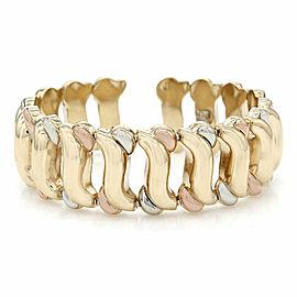 Spring Cuff Bracelet in Gold