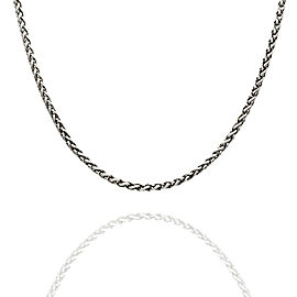 David Yurman Wheat Chain Necklace in Silver